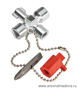 Ключ для электрошкафов KNIPEX 00 11 03