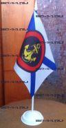 Флаг Морская Пехота (12Х18см на подставке)