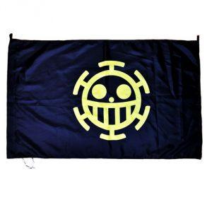 Флаг One Piece Trafalgar (синий)
