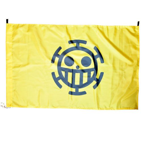 Флаг One Piece Trafalgar (желтый)