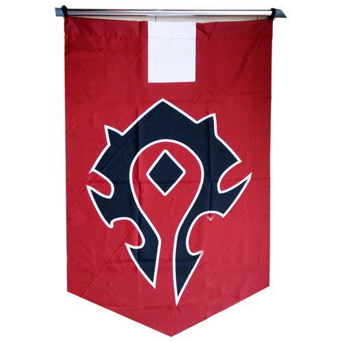 Флаг World of WarCraft: Орда