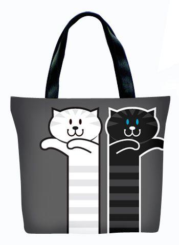 Женская сумка ПодЪполье Boxing cat`s