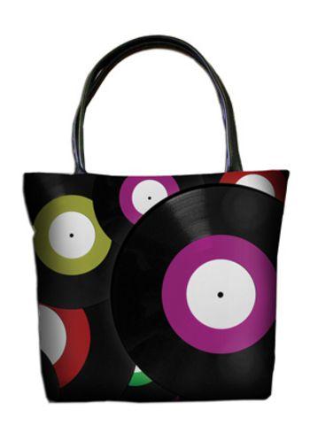 Женская сумка ПодЪполье Vinyl record