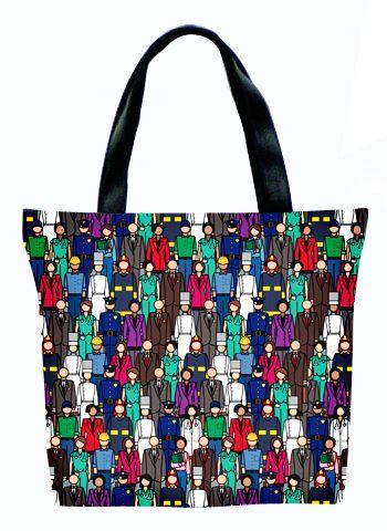 Женская сумка ПодЪполье People