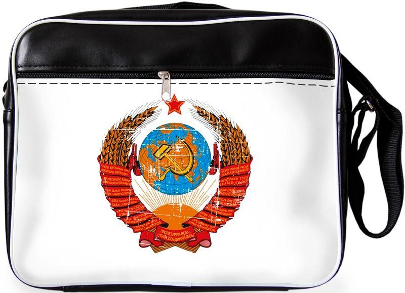 """Молодежная сумка """"ПодЪполье"""" U.S.S.R. 6."""