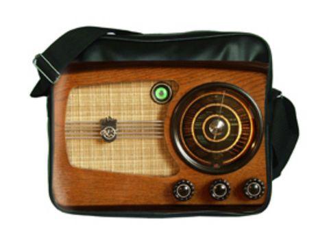 """Молодежная сумка """"ПодЪполье"""" Wood radio"""