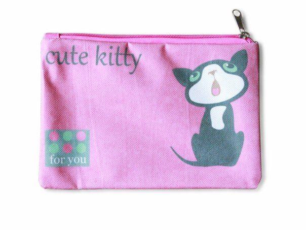 "Косметичка ""ПодЪполье"" Cute kitty"