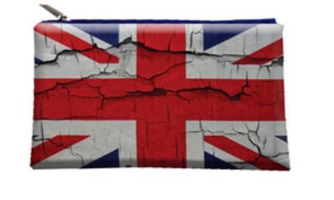 """Косметичка """"ПодЪполье"""" British flag"""