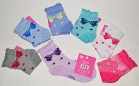 Носки детские для девочки( мин.заказ-3 уп)-20 руб