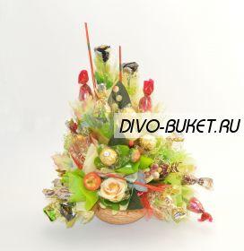 """Букет из конфет №104 """"1 Сентября"""""""