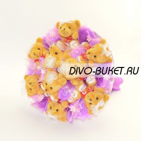 """Букет из игрушек №320-9 """"Умка"""""""