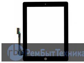 Apple Ipad 4 4G A1460 A1458 A1459 Touch Сенсорный экран, тачскрин, сенсор, стекло - черное