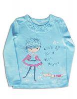 Л 084 Блуза для девочки Basia Россия