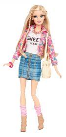 Кукла Барби Floral Jacket, серия Уличный стиль, BARBIE