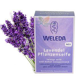WELEDA Лавандовое растительное мыло, 100гр