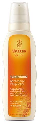 WELEDA Облепиховое питающее молочко для тела, 200 мл