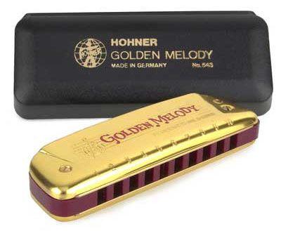 "HOHNER Golden Melody Gold ""C"" Губная гармоника до-мажор"