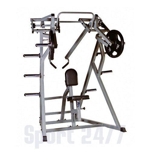 Гребная тяга с упором в грудь (верхний рычаг) HARDMAN HM-781