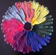 перчатки рабочие хб 5 нитей 10 класс супер люкс разноцветные