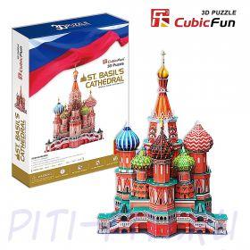 CubicFun. 3D пазлы. Соборы и храмы. Собор Василия Блаженного