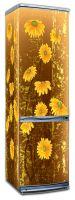 Виниловая наклейка на холодильник - Урсиния