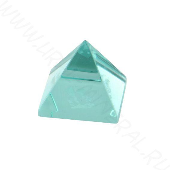 Пирамида - Обсидиан голубой