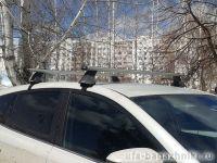 Багажники на крышу Ford Kuga, Атлант, аэродинамические дуги