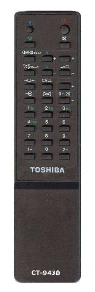 Пульт для Toshiba CT-9430, CT-9292 , CT-9381, CT-9293, CT-9396, CT-9565 (TV) (2512DT, 2545, 255R7F, 2806XH, 71H/329T)