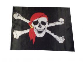 Пиратский флаг размеры 145х90см большой