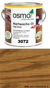 Цветное масло с твердым воском Osmo Hartwachs-Ol Farbig слабо пигментированное 3072 Янтарь, 2,5л