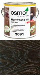 """Цветное масло с твердым воском Osmo Hartwachs-Оl Effekt Silber/Gold слабо пигментированное """"Эффект серебро"""" 3091 Серебро, 2,5л"""