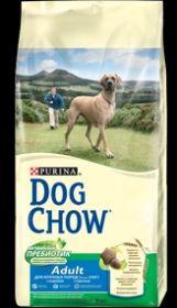 DOG CHOW ADULT LARGE BREED  для собак крупных пород Индейка и Рис 14 кг