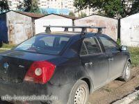 Багажник на крышу Geely MK, Атлант, аэродинамические дуги