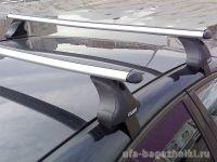Багажник на крышу Geely Emgrand, Атлант, аэродинамические дуги