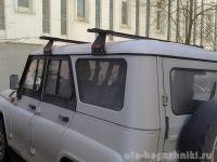 Багажник на крышу УАЗ Хантер, Атлант, стальные дуги