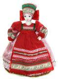 Сувенирная кукла на чайник Мила