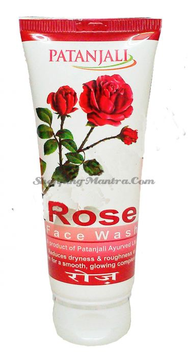 Гель для умывания Роза Патанджали Аюрведа | Divya Patanjali Rose Facewash