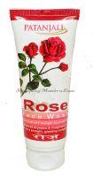 Гель для умывания Роза Патанджали Аюрведа   Divya Patanjali Rose Facewash