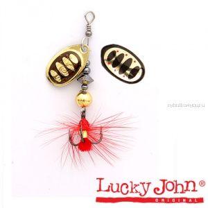 Блесна вращающаяся Lucky John BONNIE BLADE №03 / 6,4гр / цвет: 001