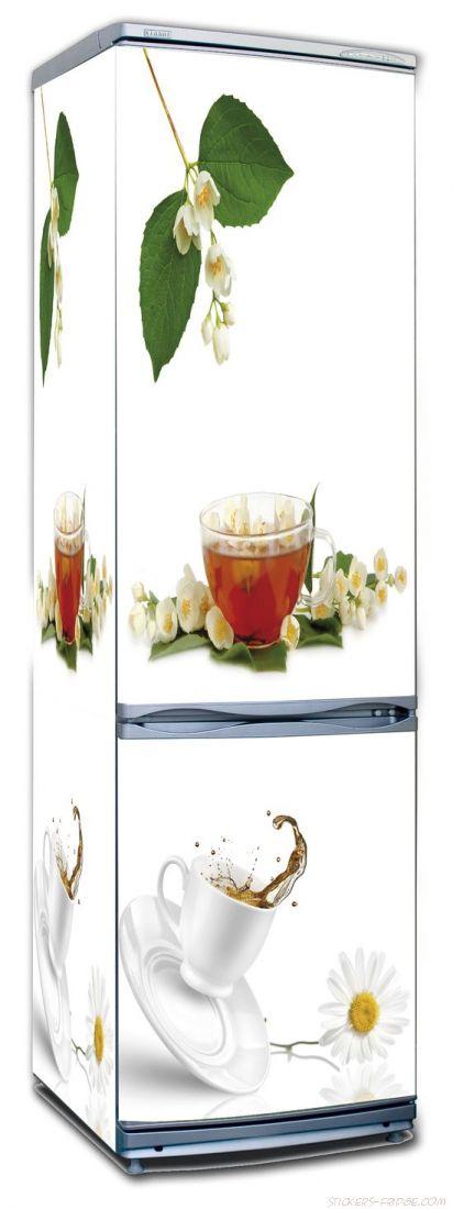наклейки на холодильник - Tea