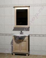 """Комплект мебели для ванной комнаты """"Челси-1 АЛЕКС-70 береза"""""""