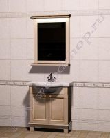 """Мебель в ванную из массива """"Челси-1 АЛЕКС-75 береза"""""""