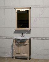 """Мебель для ванной из дерева """"Челси-2 УОРВИК-60 береза"""""""