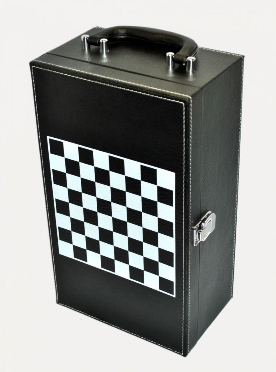 Кейс кожаный с шахматами