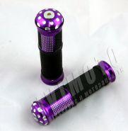 ручки руля (грипсы), цвет: фиолетовый