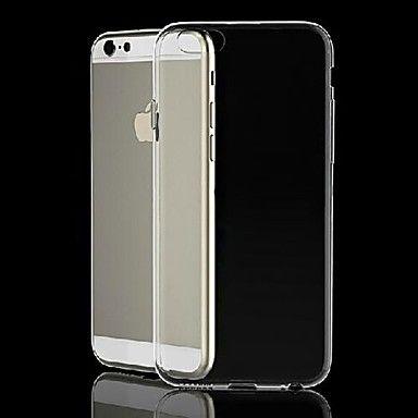 Ультратонкий силиконовый чехол для iphone 6/6s