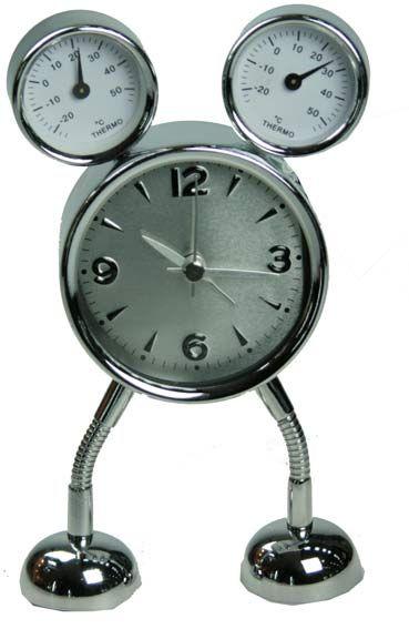 """Часы-будильник """"Робот-мышонок"""""""