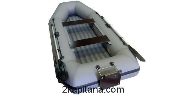 Надувная лодка Хантер 280 ЛТН с надувным дном
