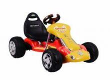 Детский электрокартинг Kart 6628 на резиновых колёсах