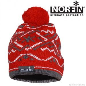 Купить Шапка Norfin Norway Women Red (Артикул: 305756)